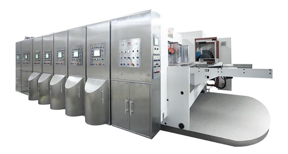 K6-型电脑控制水性印刷开槽模切机